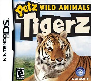 Petz Wild Animals Tigerz NDS