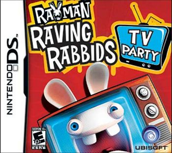 Rayman Raving Rabbids TV Party NDS