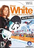 Shaun White Snowboarding World Stage WII