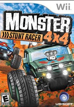 Monster 4X4 Stunt Racer Game Only WII