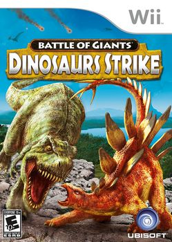 Battle of Giants Dinosaur Strike WII