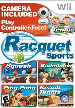 Racquet Sports with Camera WII