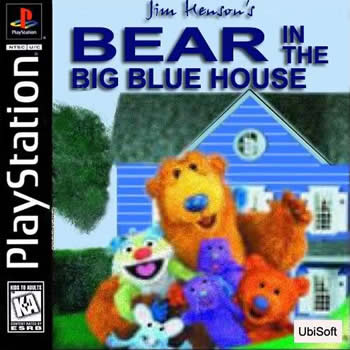 Bear in Big Blue House PS