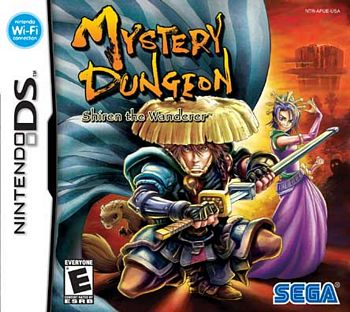Mysterious Dungeon: Shiren the Wanderer NDS