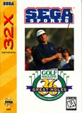 Sega Sports 36 Great Holes Starring Fred Couples S32X