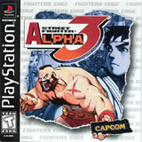 Street Fighter Alpha PS
