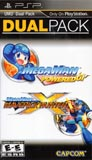 Mega Man Powered Up and Maverick Hunter X Dual Pack PSP