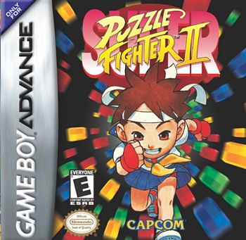 Super Puzzle Fighter 2 GBA