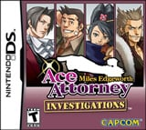 Ace Attorney Investigations: Miles Edgeworth NDS