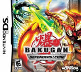 Bakugan Battle Brawlers: Defenders of the Core with Action Figure NDS