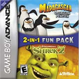 Shrek 2 / Madagascar Operation Penguins 2 pk GBA