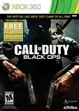 Call of Duty: Black Ops LTO Xbox 360