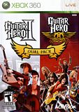Guitar Hero II and Guitar Hero Aerosmith Dual Pack Xbox 360
