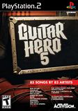 Guitar Hero 5 (Game Only) PS2