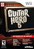 Guitar Hero 5 (Game Only) WII