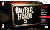 Guitar Hero 5 Guitar Bundle WII