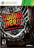 Guitar Hero: Warriors of Rock Xbox 360