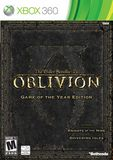 Oblivion Game of the Year Edition Xbox 360
