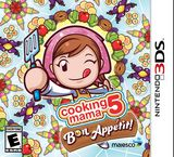 Cooking Mama 5: Bon Appetit! 3DS