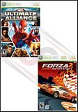 Marvel Ultimate Alliance / Forza Motorsport 2 Double Pack Xbox 360