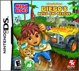 Mega Bloks Diego's Build and Rescue NDS