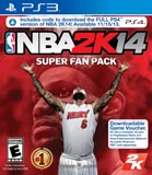 NBA 2K14 Super Fan Pack (Digital Codes Only) PS3 + PS4