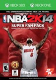 NBA 2K14 Super Fan Pack (Digital Codes Only) Xbox 360 + Xbox One