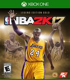 NBA 2K17 Legends Gold Xbox One