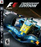 F1 Formula One Champsionship Edition PS3