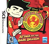 American Dragon Jake Long Attack of the Dark Dragon NDS