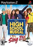 High School Musical: Sing It (Game Only) PS2