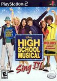 High School Musical: Sing It with Microphone PS2