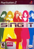 Disney Sing It Bundle with Microphone PS2