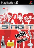 Disney Sing It High School Musical 3 Senior Year PS2