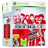 Disney Sing It High School Musical 3 Senior Year Bundle Xbox 360