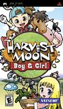 Harvest Moon: Boy & Girl PSP