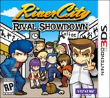 River City: Rival Showdown GAME ONLY NO KEYCHAIN 3DS