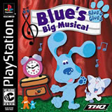 Blue's Clues: Blue's Big Musical PS