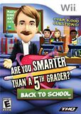 Are You Smarter Than a 5th Grader: Back to School WII