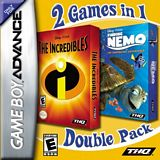 Disney's Finding Nemo / Incredibles Dual Pack GBA