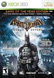 Batman Arkham Asylum: Game of the Year Xbox 360