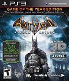 Batman Arkham Asylum: Game of the Year PS3