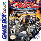 WDL World Destruction League Thunder Tanks GBC