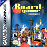 Board Game Classics Chess / Checkers / Backgammon GBA
