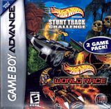Hot Wheels Stunt Track Challenge / World Race Double Pack GBA