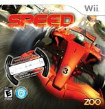 Speed with Racing Wheel WII
