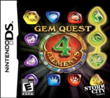 Gem Quest: 4 Elements NDS