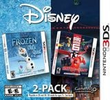 Disney Frozen & Big Hero 6 2 Pack 3DS