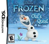 Frozen Olaf's Quest NDS