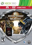 Mortal Kombat vs DC Universe with Mortal Kombat Movie Combo Pack Xbox 360